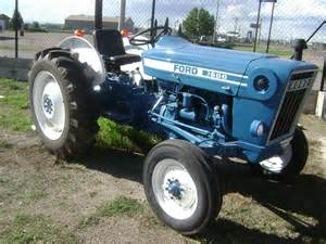 tracteur Ford 6500
