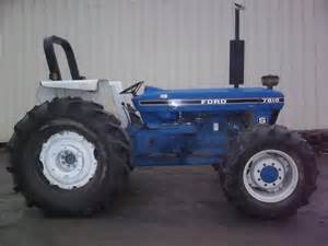tracteur Ford 7810S