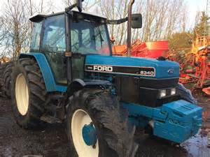 tracteur Ford 8340