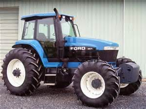 tracteur Ford 8670