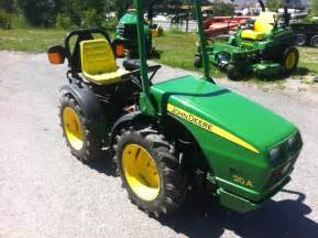 tracteur John Deere 20A