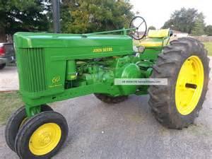tracteur John Deere 60