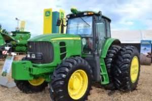 tracteur John Deere 6180J