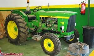 tracteur John Deere 717