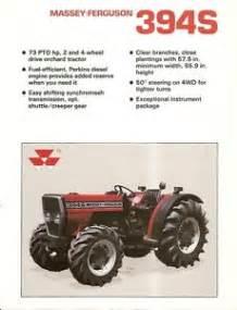 tracteur Massey Ferguson 394S