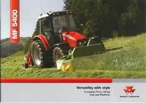 tracteur Massey Ferguson 5425