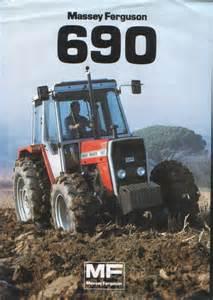 tracteur Massey Ferguson 690T