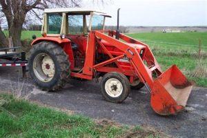 tracteur Allischalmers 5040