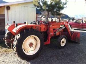 tracteur Allischalmers 5045