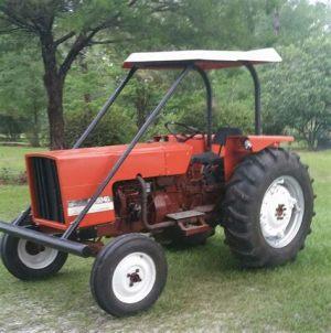 tracteur Allischalmers 6040