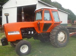 tracteur Allischalmers 7000