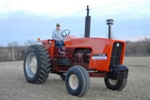tracteur Allischalmers 7050