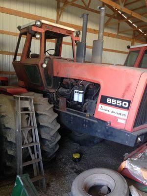 tracteur Allischalmers 8550