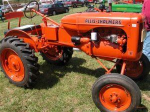 tracteur Allischalmers D270