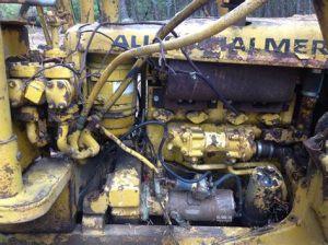 tracteur Allischalmers HD6