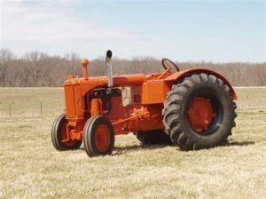 tracteur Allischalmers U