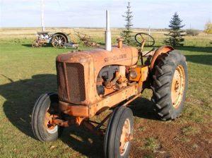 tracteur Allischalmers WF