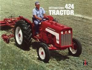 tracteur IH 424