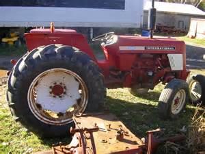 tracteur IH 454