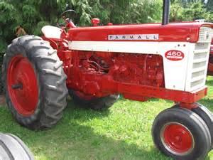 tracteur IH 460