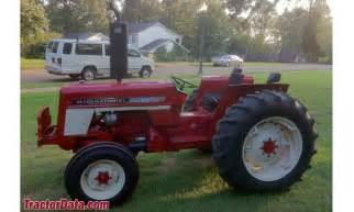 tracteur IH 464