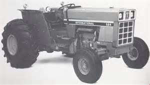 tracteur IH 584
