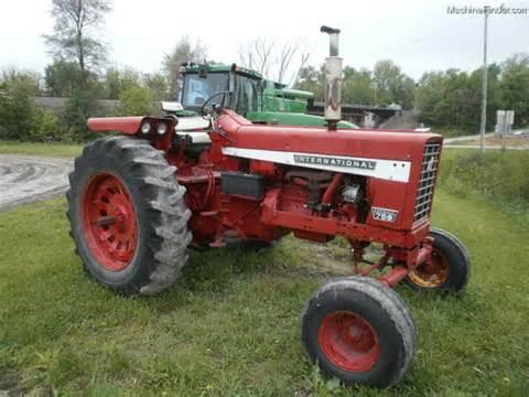 tracteur IH 756
