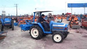 tracteur Iseki TA255