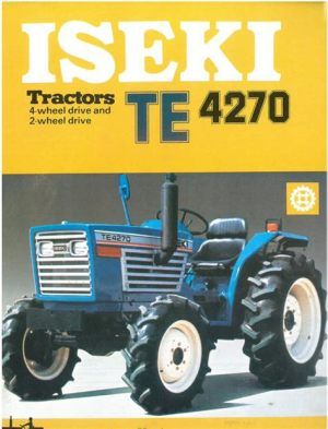 tracteur Iseki TE4270