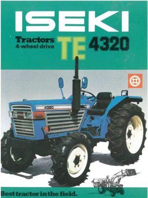 tracteur Iseki TE4320