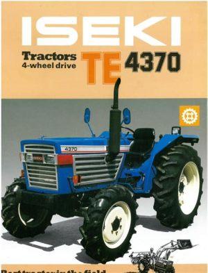 tracteur Iseki TE4370