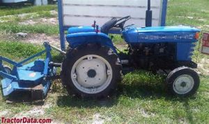 tracteur Iseki TS2205