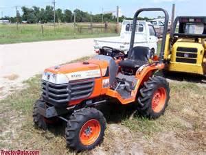 tracteur Kubota B7300