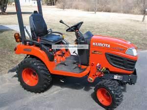 tracteur Kubota BX2660