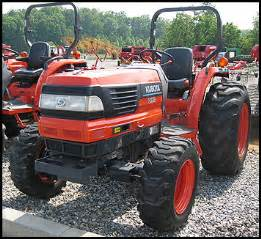 tracteur Kubota L4610