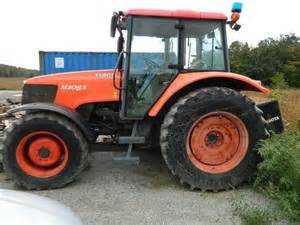 tracteur Kubota M108X