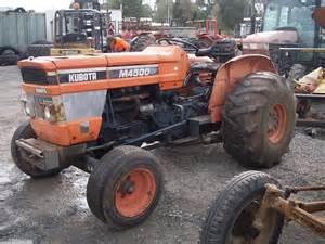 tracteur Kubota M4500