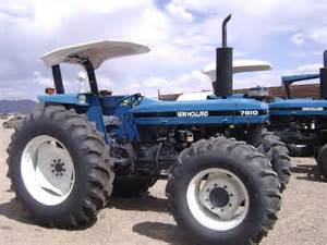tracteur New Holland 7610S