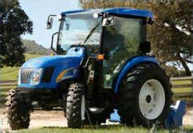 tracteur New Holland BOOMER 4055