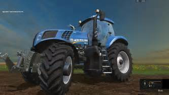 tracteur New Holland T8.275