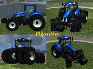 tracteur New Holland T8050