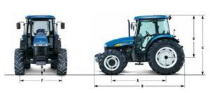 tracteur New Holland TD5020