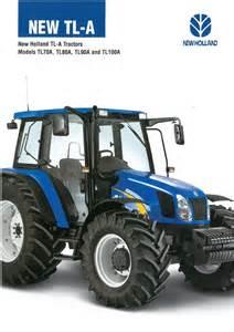 tracteur New Holland TL80A