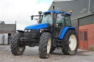tracteur New Holland TS115
