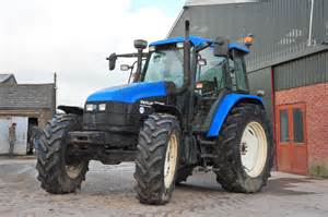 tracteur New Holland TS115