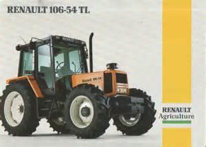 tracteur Renault 106-54 TL