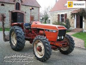 tracteur Renault 486