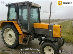 tracteur Renault 80-12 TX