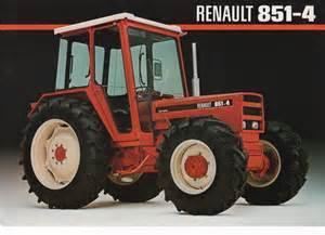 tracteur Renault 851