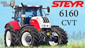 tracteur Steyr 6160 CVT